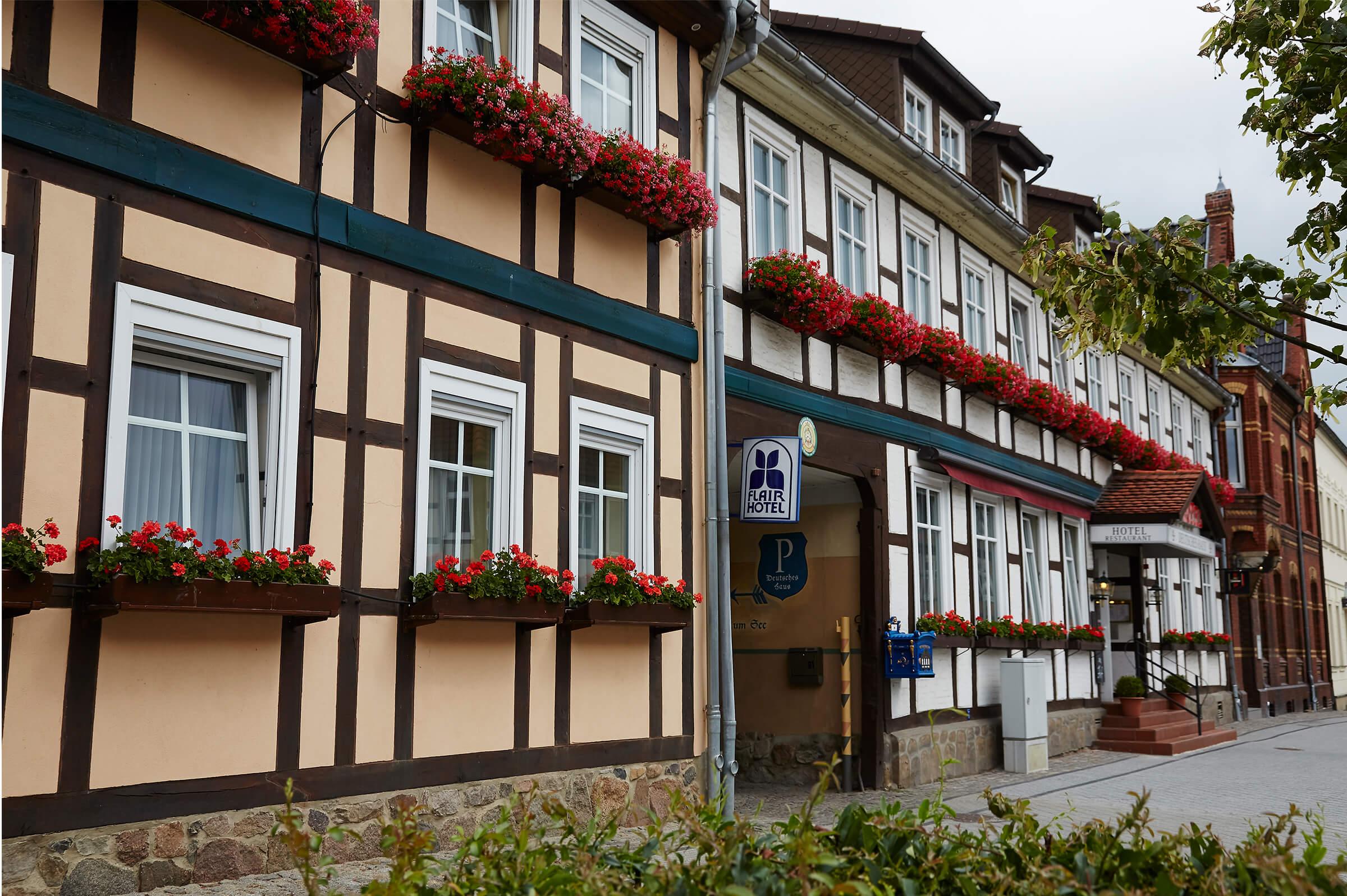 Fassade Deutsches Haus Arendsee