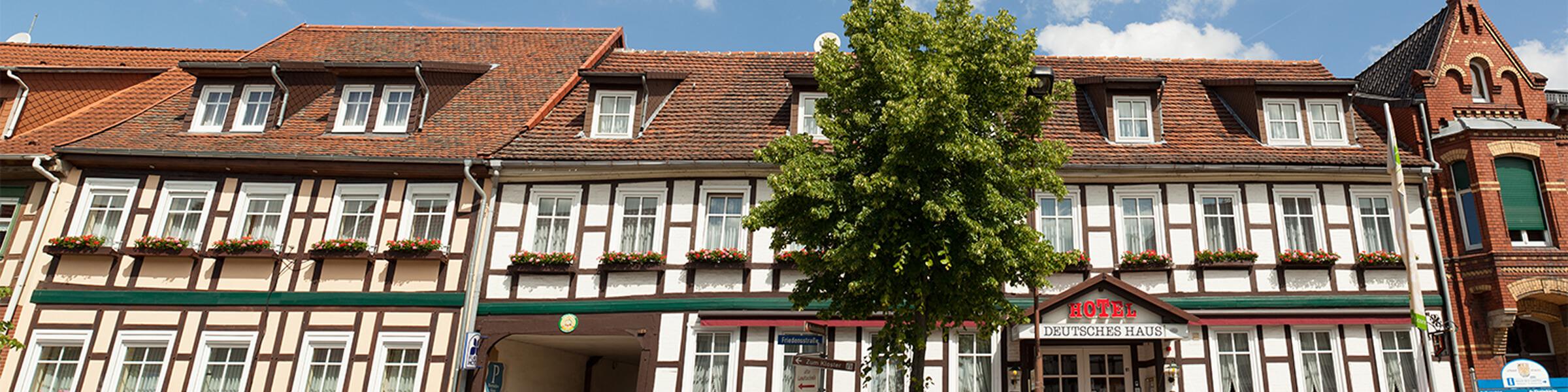Hotelansicht Deutsches Haus Arendsee